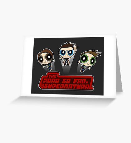 Supernatural Puffs Parody Greeting Card