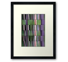 Bushland Abstract Framed Print