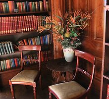 Home library by indiafrank