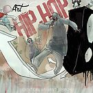 Identical Variant X The Art Of Hip-Hop by Sean Mack