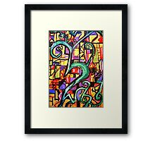 Green Vine Framed Print