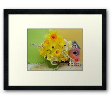 If Friends Were Flowers Framed Print
