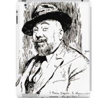Jules Alexandre Grün Lucien Boyer en 1920 iPad Case/Skin
