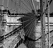 Brooklyn Bridge by Leon Heyns