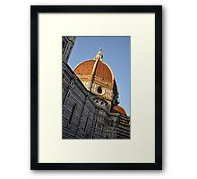 Church Dome of St. Mary of Flowers Framed Print