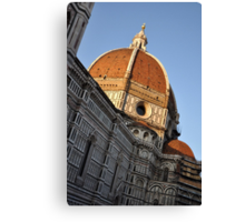 Church Dome of St. Mary of Flowers Canvas Print