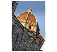 Church Dome of St. Mary of Flowers Poster
