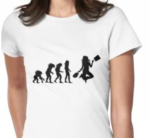 Shopper evolution Womens Fitted T-Shirt