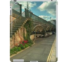 The Iron Bridge at Exeter  iPad Case/Skin