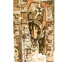 Old School Graffiti Platoon Photographic Print