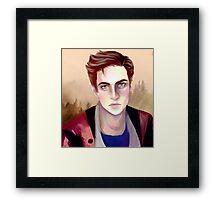 Nathan Prescott! Framed Print