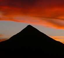 Pyramid Sunset by Tanya Rossi