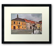 Colours of Győr (HDR) Framed Print