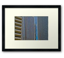 Architecture San Francisco Framed Print