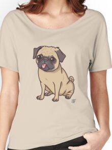 PUG (pink) Women's Relaxed Fit T-Shirt