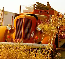 Old Fire Truck by Escott O. Norton