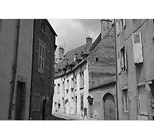 Village Streetscape, France Photographic Print