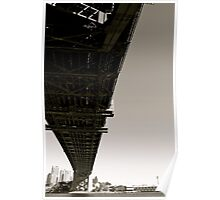 Sydney Harbour Bridge - Middel of the day Poster