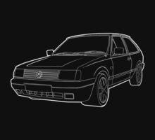 VW Polo mk2f 86c - White  by kiranfarrow