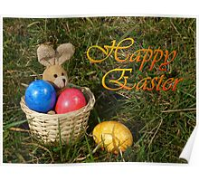 Lost Egg Happy Easter Greeting Card Poster