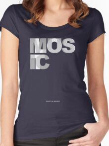 Lost In Music Women's Fitted Scoop T-Shirt