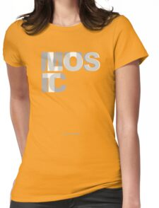 Lost In Music Womens Fitted T-Shirt