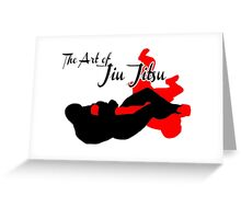 The Art of Jiu Jitsu Arm Bar  Greeting Card