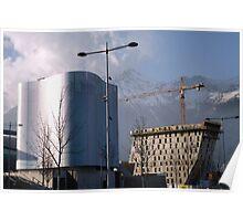 Building development, Innsbruck Poster