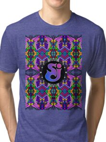 String Cheese Incident - Trippy Pattern Tri-blend T-Shirt