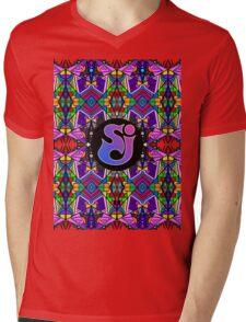 String Cheese Incident - Trippy Pattern Mens V-Neck T-Shirt