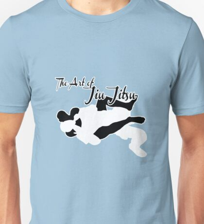 The Art of Jiu Jitsu Rear Naked Choke  Unisex T-Shirt