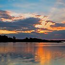 Smith&#x27;s Lake, Forster Sunset by bazcelt