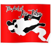 The Art of Jiu Jitsu Rear Naked Choke  Poster