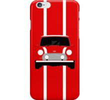 The Classic with white stripes iPhone Case/Skin