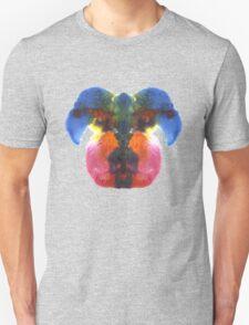 Dog head splat Unisex T-Shirt