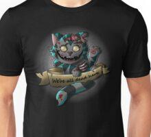The Zombie  Cheshire Cat Unisex T-Shirt