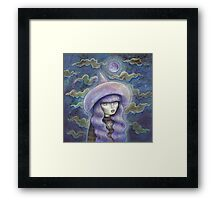 Witch Moon Framed Print