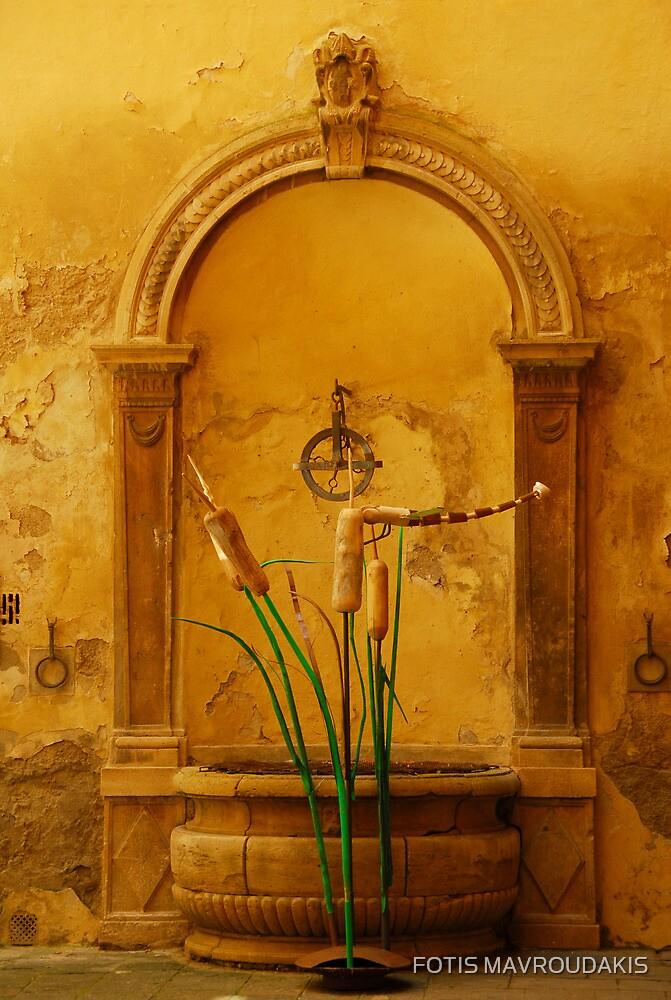 Painted by Tuscany by FOTIS MAVROUDAKIS