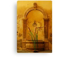 Painted by Tuscany Canvas Print