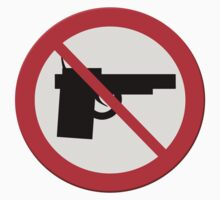 "Sign ""No guns"" by stuwdamdorp"