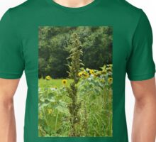 In the Tall Grass She Stood the Tallest Unisex T-Shirt