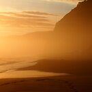 Great Ocean Sunset by Natasha M