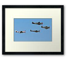 Stunning WWII War Birds. Framed Print