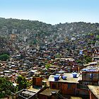 Favelas of Rio, Brazil by Clint Burkinshaw