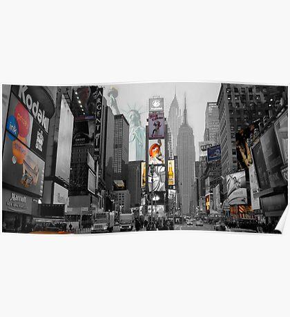 Iconic NY City  Poster