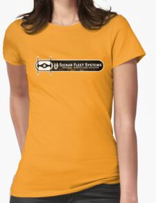 Corporate Pride (Distressed) Womens Fitted T-Shirt