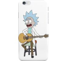 Rick and Morty-- Tiny Rick Guitar iPhone Case/Skin