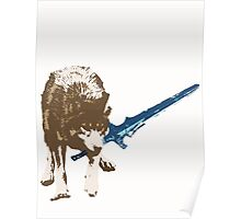 Great Grey Wolf Sif Poster