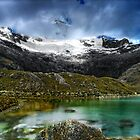 Veiled Lake, Peru by Clint Burkinshaw