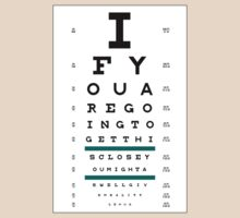 Hug Eye Chart by jefph